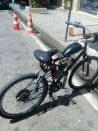Vendo baiki motorizada valor 1.300