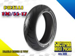 Pneu Pirelli 190/55-17 Diablo Rosso II 75w