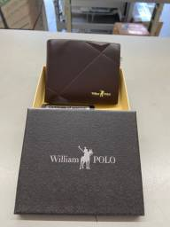 Carteira Couro - William POLO