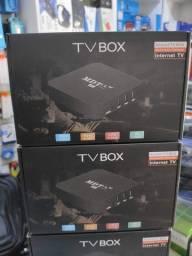 Tv box, transforma sua tv normal em smart