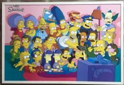 Pôster quadro Simpsons