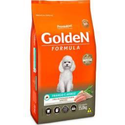 Ração Golden Adulto Mini e Pequeno 15 kg
