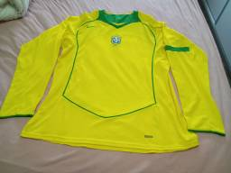 Camisa Seleção Brasileira 2004 ORIGINAL