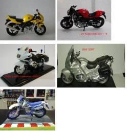 Motos em miniatura escala 1:18