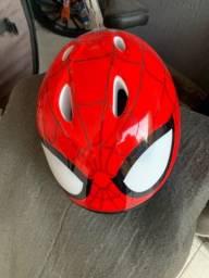 Capacete Infantil Homem Aranha