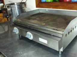 Chapa bifeira para lanches e fritadeira elétrica 10 litros