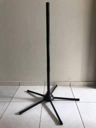 Coluna De Ferro Com Base Para Ventilador Loren Sid 40/50/60cm Preto - Praticamente Novo
