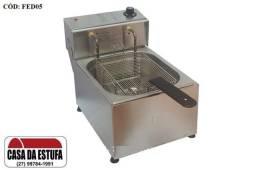 Fritadeira Elétrica Edanca Aço Inox 5 Lts Profissional - FED05
