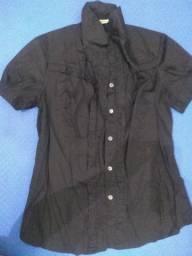 Camisa preta tamanho M