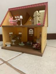 Casinha brinquedo silvanian family