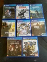 Vendo jogos de play4