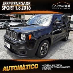Jeep Renegade Sport 1.8 2016 Automático