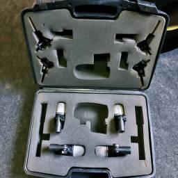 Kit 4 microfones TX-6 JTS para Bateria
