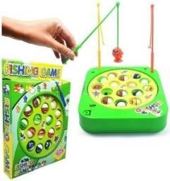 Brinquedo Jogo Pega Peixe Pesca Maluca Pescaria Infantil