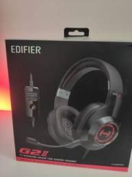 Fone de ouvido headset gamer edifier g2 ii