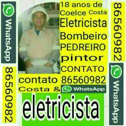 Eletricista bombeiro pedreiro pintor