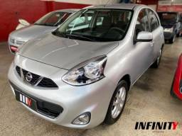 Nissan March 1.6 Sv 2015 - Completo