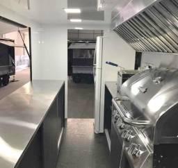 Cozinha food truck completa
