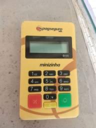 Máquina de cartão PagSeguro aceita todos os cartões