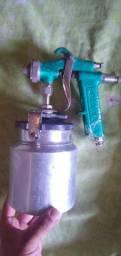 Pistola de pintura,já usada