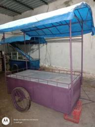 Vendo carrinho de lanche e caipfrutti