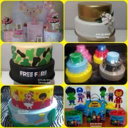 Lembrancinhas, personalizados, centro de mesa e decoração infantil e adulto