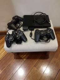 Playstation 2 PS2 completo e destravado