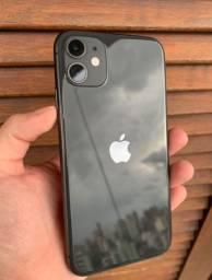 Iphone 11 Black 128Gb intacto até 12x no cartão