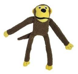 Brinquedo de pelúcia pet macaco grande jambo