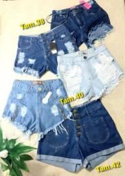 Short /Bermudas e Shorts saia Jeans