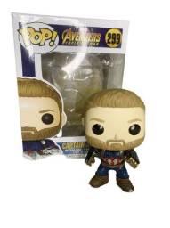 Funko Pop Capitão América Avengers Infinity War bobble head