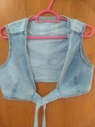 Casaquinho jeans