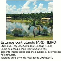 JARDINEIRO COM URGÊNCIA