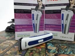 Máquina de depilação e barbear portátil