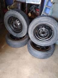 4 rodas de ferro. 13