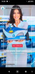 LS -Robô Hidráulico -Não peca + tempo limpando piscina