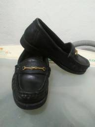 Sapato Social Infantil + Pantufa de ursinhos
