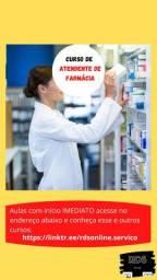 Curso de Atendente de Farmácia - 100% Online