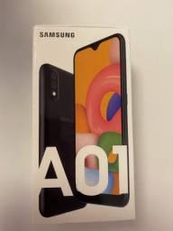 Samsung A01 Preto Novo Lacrado
