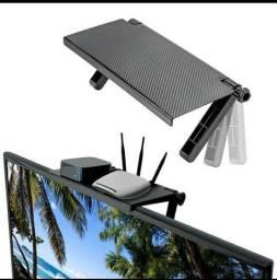 Prateleira regulável para tv/computador