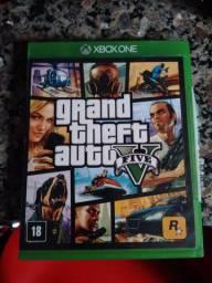 GTA 5 para Xbox one. Passo cartão