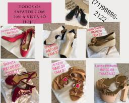 Título do anúncio: Diversos sapatos