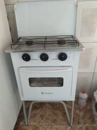 Fogão Venax com forno 2 bocas
