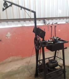 Fábrica Máquina tela alambrado com 5 matrizes e outros.
