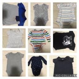 Lote roupas bebe 3-9meses