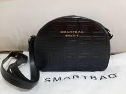 Bolsa Smartbag Couro Monograma