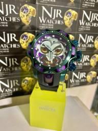 Título do anúncio: Relógio Invicta Coringa borracha novo top
