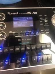 Módulo Roland bk7m impecável troco leia