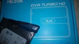 Kit com 4 Câmeras HD e dvr