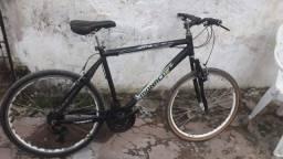 Título do anúncio: Vendo o troco por celular bicicleta da Mônaco de alumínio